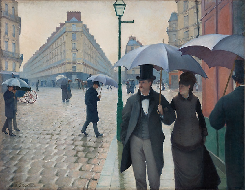 Paris Street; A Rainy Day by Gustave Caillebotte, 1877. Another bit of vaguely irrelevant website content. I just like umbrellas. Call me crazy.